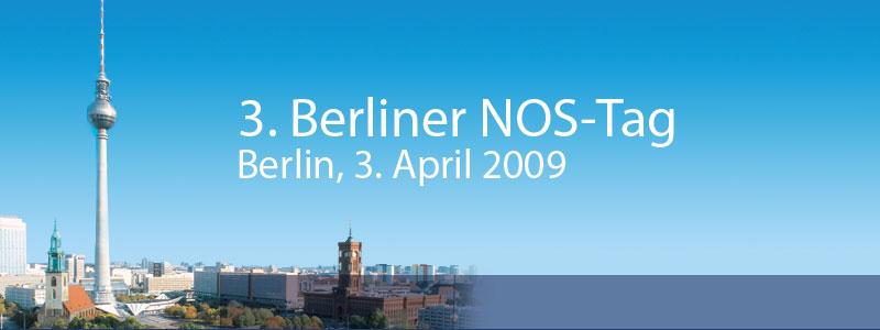 3. Berliner NOS-Tag -  Berlin, 30. Oktober 2008